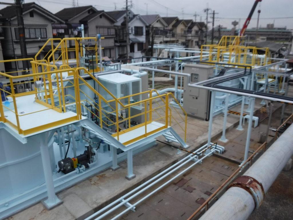 排水処理設備工事